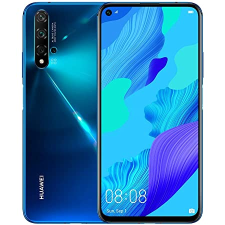 Huawei Nova 5T YAL-L21 128GB 6GB RAM International Version - Crush Blue