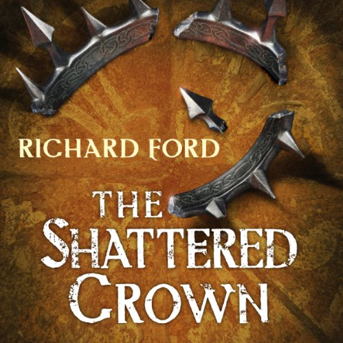 The Shattered Crown audiobook cover art