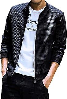 [ネルロッソ] ブルゾン メンズ ジャンパー スタジャン 大きいサイズ ミリタリージャケット ライダースジャケット cmh2498