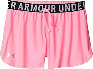 Under Armour Girl's Play Up Solid Shorts