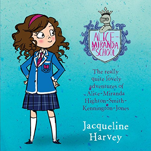 Alice-Miranda at School audiobook cover art