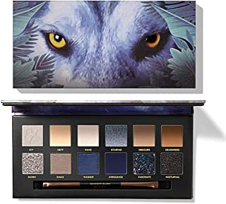 GL-Turelifes Professional Eyeshadow Palette with Brush Matte Shimmer Glitter, Piggy Tiger Ice Wolf Animal 12 Colors Explorer Eye shadow, Natural Waterproof Long Lasting Eyes Makeup kit (Ice Wolf)