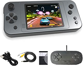 Great Boy Portable Handheld Games for Kids Preloaded 380 Classic Retro Games with 3.5'' Big Color Display and Gamepad Rech...