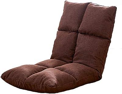 フロアチェア フロアチェアフロアチェアマットマルチ調節フロアチェアFoldable通常サイズ 怠惰な椅子 (Color : D)