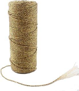 3 mm Dorado Piel esnado 1 m Dorado Longitud: a Elegir Cord/ón de Cuero Trenzado Redondo