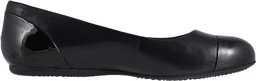 Black Soft Napa/Patent