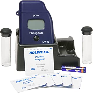Milwaukee MW12 Phosphate Low Range Mini-Colorimeter, 0.00 - 2.50 ppm, 0.01 ppm Resolution, LCD Display