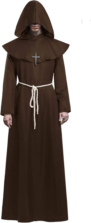 KONVINIT Mönch Robe Kostüm Männer Prister
