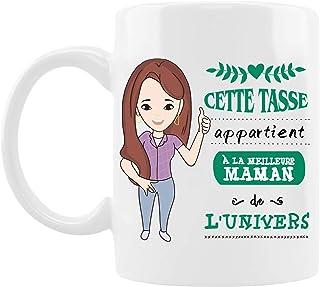 Cadeau Anniversaire Maman, Tasse De Fête Des Mères, Tasse à Café, Cadeau Maman, Mug En Céramique, Four à Micro-ondes Dispo...