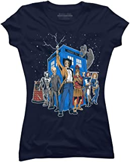Masters of The Whoniverse Juniors' Graphic T Shirt