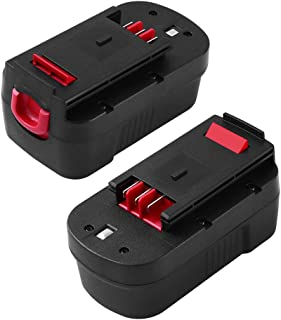 [Upgraded to 3600mAh] HPB18 18Volt Battery Replace for Black and Decker HPB18-OPE 244760-00 A1718 FSB18 Firestorm Cordless Power Tools 18 Volt Batteries 2 Packs