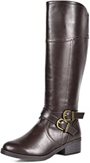 Best brown high boots Reviews