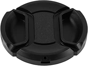 SODIAL R  Univeral 49mm Center Pinch Front Lens Cap for DSLR Camera