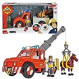 Sam le Pompier Véhicule Animal Rescue Phoenix avec Lumière, Cheval & Sam