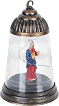 WINOMO Kerst Decoratieve Lantaarns Vakantie Verlicht Jezus Kerk Opknoping Led Nachtlampje Thuis Xmas Decoraties