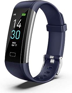 Surprise_Zone Nueva Pantalla Táctil LCD IP68 Impermeable Bluetooth Sport Smart Bracelet Watch Health Monitoring S5