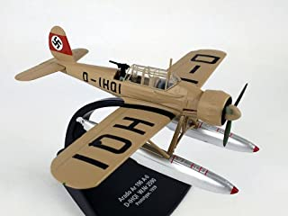 Arado Ar-196 German Kriegsmarine Flying Boat 1/72 Scale Diecast Model - Oxford DIECAST AC080 Arado AR196 D-IHQI Prototype 1938