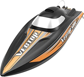 VOLANTEXRC Remote Control Boat RC Boat VectorSR80 32inch 44mph High Speed RC Watercraft Auto Self-Righting & Reverse Function, PNP Version NO Remote No Battery (798-4 PNP)