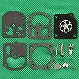 Piezas de repuesto para kit de reparación de carburador Huq para reparación de motosierra Zama Rb-4 Homelite 240