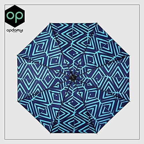 YFF@ILU Cadeau d'amoureux de cadeau d'amoureux en caoutchouc noir hommeche long parapluie Parapluie ensoleillé hommes d'étudiants dans le retro parasols parasols ,2 Femelle
