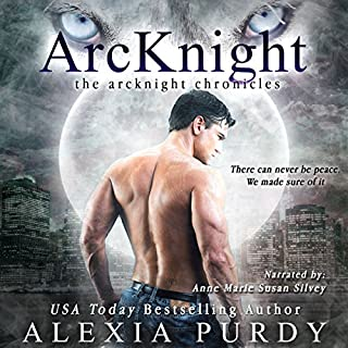 ArcKnight audiobook cover art