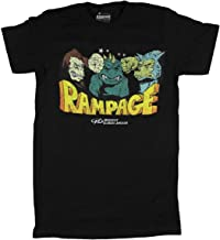 Fashion Rampage Midway Classic Arcade Games Black Graphic T-Shirt