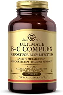 Ultimate B+C Complex Stress Formula 90 Tablets