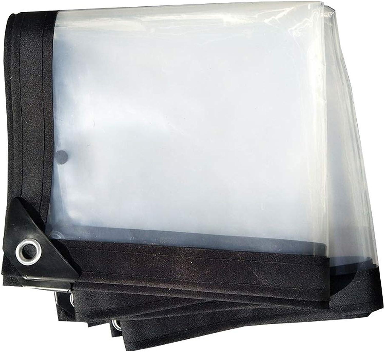 ZEMIN Tarpaulin Rainproof Windshield Stable Corrosion-Resistant Greenhouse Film Flowers Buttonhole PE, 24 Sizes