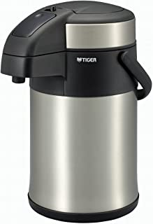 TIGER 虎牌 保温瓶 保温 桌上用品 不锈钢 空气 水壶 无需打开内盖 3.0 升 MAA-C300-XC