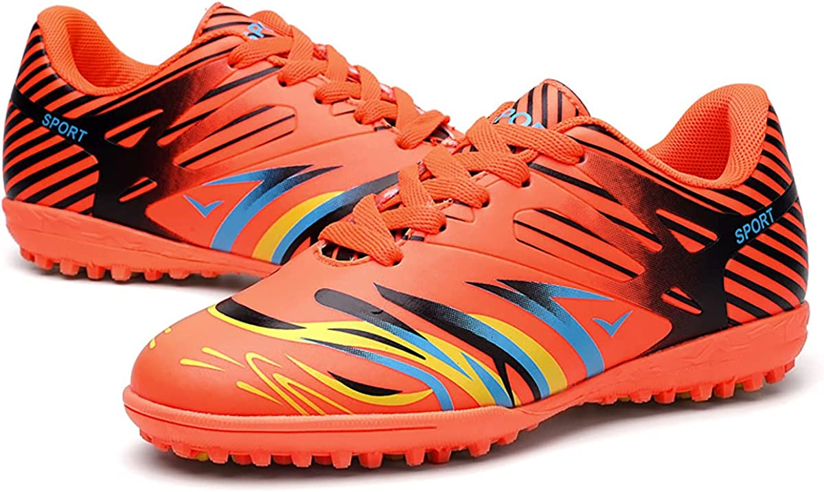 TOPAOJC Spiked Football Shoes Outdoor Walking and Sneake Limited time trial shopping price Running