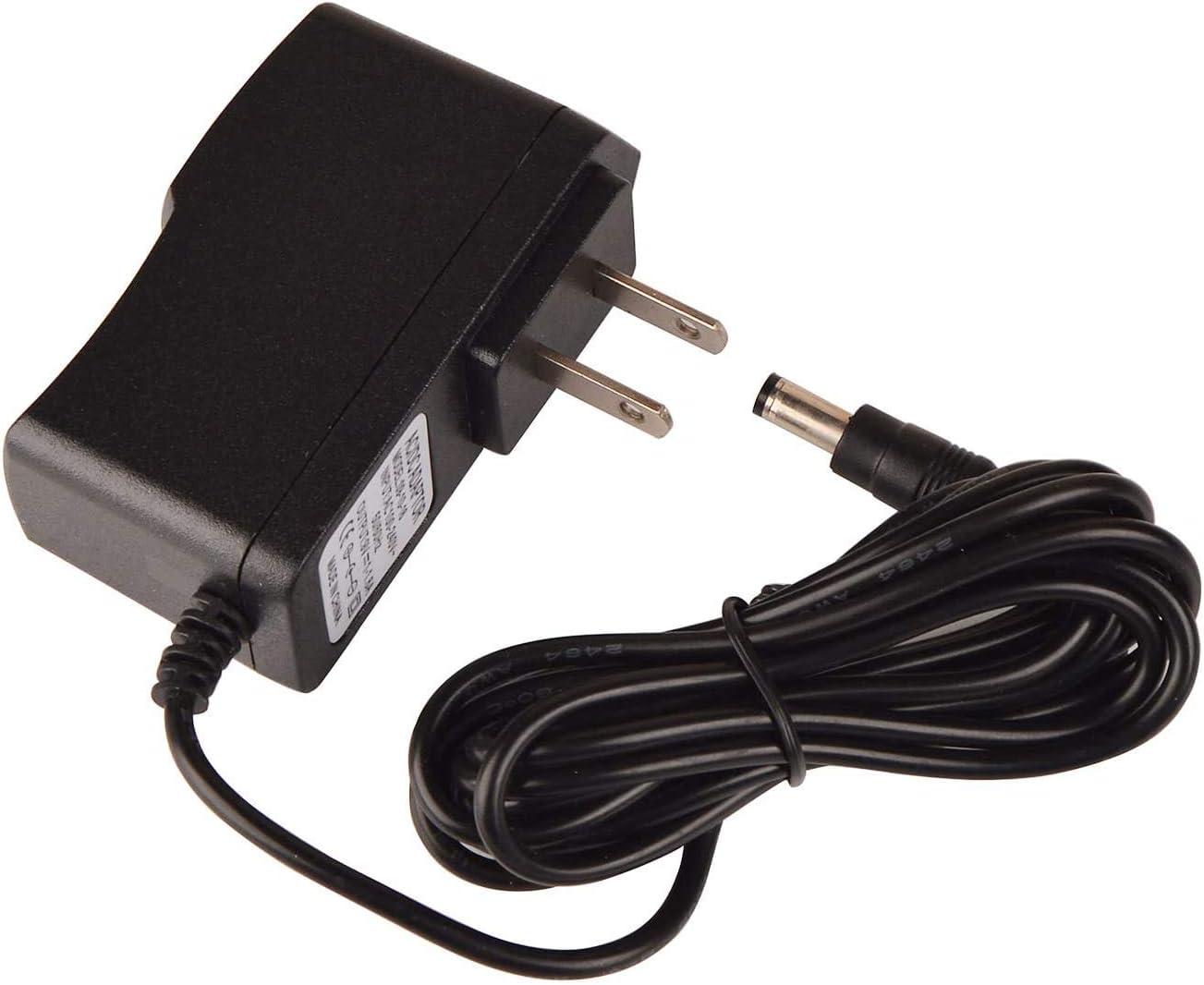 AC/DC Adapter - DC 12V 1A Power Supply 1000mA, 100~240V AC to DC 12 Volt 1 Amp 0.6A Converter with 5.5 x 2.5mm 2.1mm Plug for Security Camera DVR NVR Surveillance System