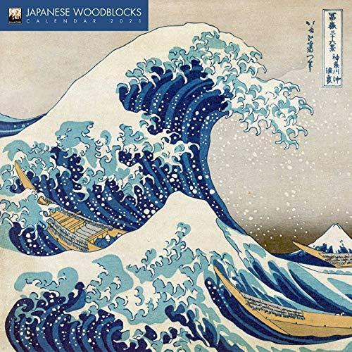Japanese Woodblocks – Japanische Holzschnitte 2021: Original Flame Tree Publishing-Kalender [Kalender] (Wall-Kalender)