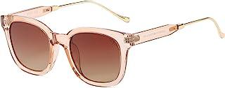 Classic Square Polarized Sunglasses for Women UV400 Sun...