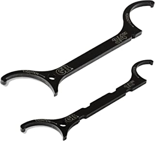 Gardner Bender LNW-KIT Locknut Wrench Kit, ½ & ¾ Inch., Loosen / Tighten locknuts, Steel Construction fits UL locknuts, 2 Pk. Bundle, Black