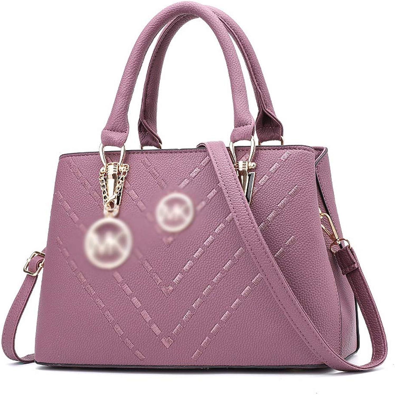 Qiruian Damen Handtaschen Crossbody PU Leder Mode Mode Mode Umhängetasche Messenger Schultertaschen Tote Tasche Stickgarn B07Q2XLMKT  Moderate Kosten d615d6