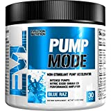 Evl Nutrition Pump Mode 30 Serv Blue Raz Vitamine C