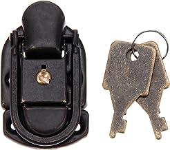 11 stks 58 * 34mm ijzer-gebaseerde ijzeren portemonnee sleutel slot antieke doos sloten vintage houten kist schakelaar lat...