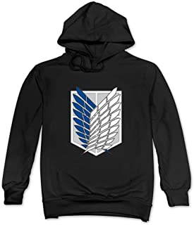 Men's Attack On Titan Team Logo Sweatshirts