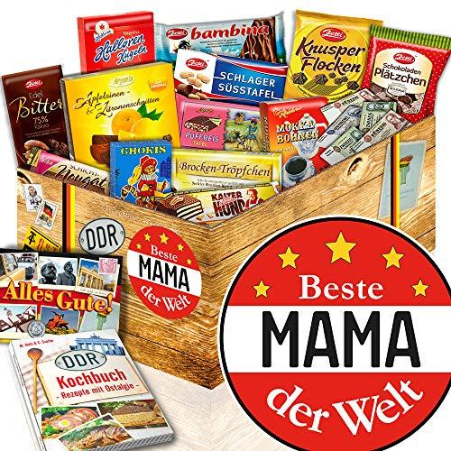 Beste Mama der Welt / Ostalgie Set Schoko / Mutter Geburtstagsgeschenk