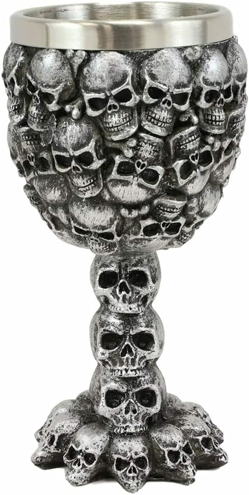 Veedaf Day of The Dead Free shipping on posting reviews Graveyard Ossuary Outlet SALE Morphing Skulls Stacked