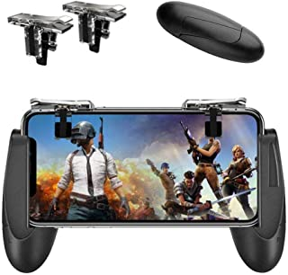 Mobile Game Controller [Upgrade Version] Mobile Gaming Trigger for PUBG/Fortnite/Rules of Survival Gaming Grip and Gaming ...