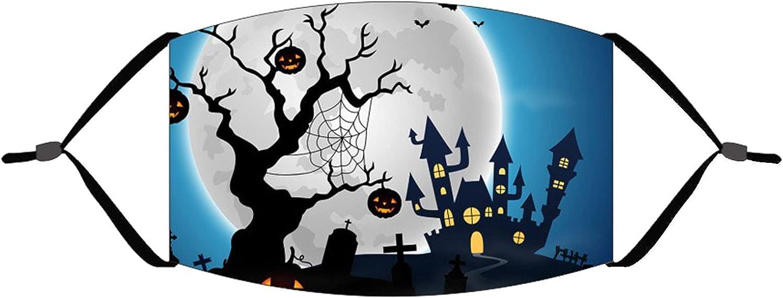 Halloween Cotton Masks- Adult Printing Masks With Elastic Earloo