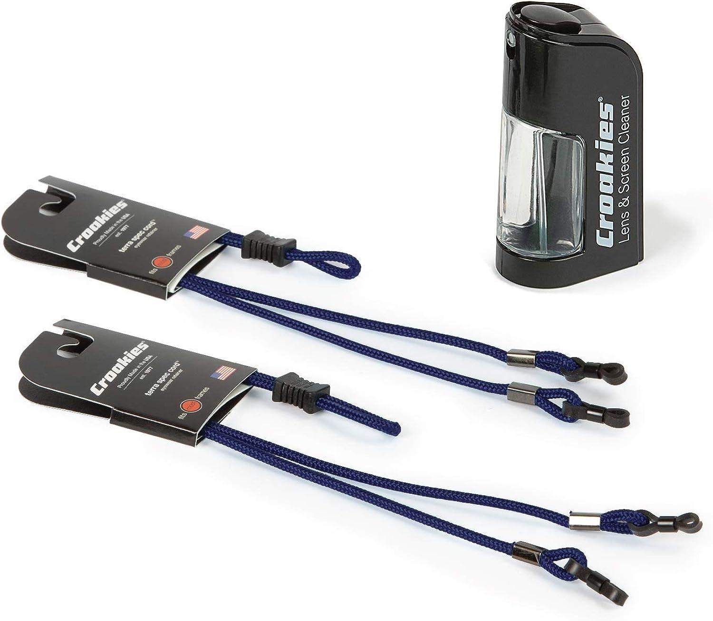 Croakies Terra Spec Cords Adjustable Sport Eyewear Retainer (Two-Pack)