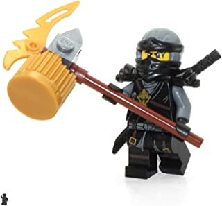 LEGO Ninjago Day of The Departed Minifigure - Cole (Scabbard) Limited Edition Foil Pack