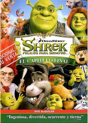 Shrek 4, felices para siempre [DVD]