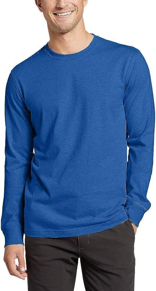 Eddie Bauer Mens Eddies Long-Sleeve T-Shirt