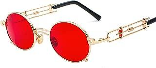 Steampunk Personality retro sunglasses Metallic sunglasses male and female hipster glasses 896