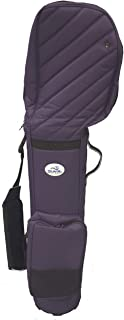 Travel Golf Gear Premium Purple Haze All-in-One Travel Cart Bag with Accessory Pocket and Detachable Shoe Bag