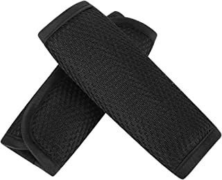 Baby Car Seat Strap Covers, Car Seat Strap Pads, Stroller Belt Covers, Baby Seat Belt Covers, Stroller Accessories, Head Support, Shoulder Pads, Black