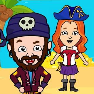 Tizi Town - My Pirate Island & Treasure Games for Kids